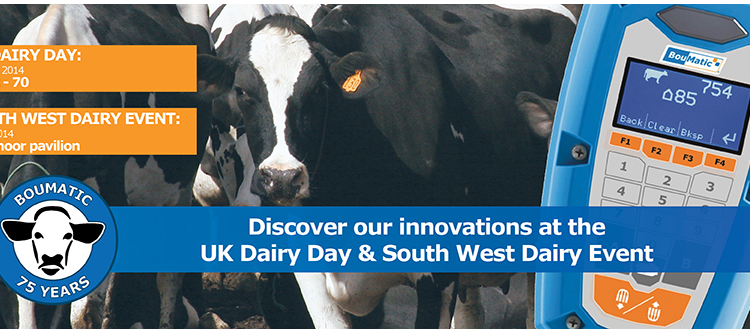Milkflo attending UK Dairy Day & South West Dairy Event
