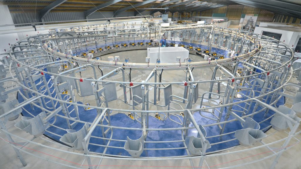 Recent Boumatic Rotary Parlour Installations | Milkflo Dairy Systems