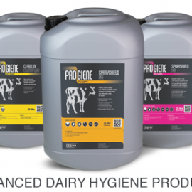 Progiene Dairy Hygiene Products Now in Stock